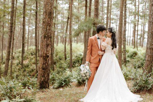Ảnh cưới ngoại cảnh đẹp tự nhiên tại Truong Nguyen Studio